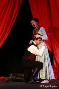 Christina Birchall Sampson as Violetta in La Traviata